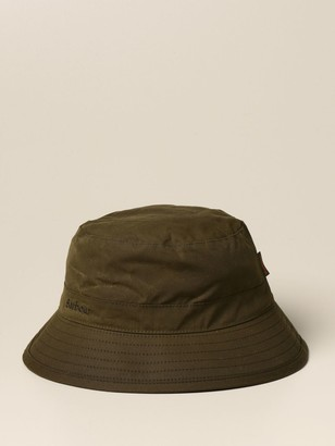Barbour Bucket Hat In Waxed Cotton