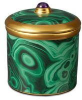 L'OBJET Malachite Votive Candle