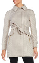 Via Spiga Quilted Trench Coat