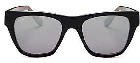 Maui Jim Unisex Ekolu Polarized Square Sunglasses, 53MM