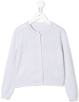 Lapin House knitted button-front cardigan