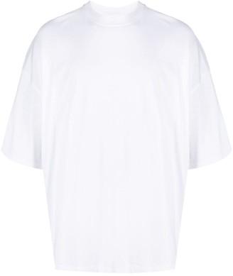 Jil Sander mock neck T-shirt