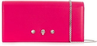 Alexander McQueen Skull Wallet On Chain