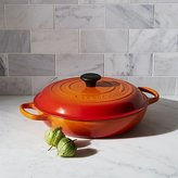 Crate & Barrel Le Creuset ® Signature 3.75-qt. Flame Everyday Pan