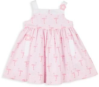 Florence Eiseman Little Girl's Flamingo Printed Dress