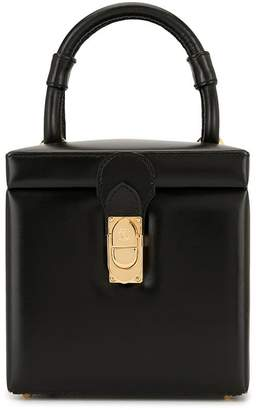 Loewe Pre-Owned clasp boxy tote