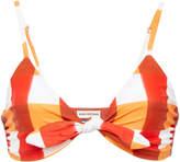 Mara Hoffman Carla Tie-Front Triangle Bikini Top