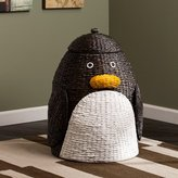 Zoomie Kids Penguin Laundry Hamper