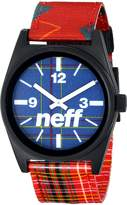 Neff Daily Woven Men's Quality Watch - / Fits All