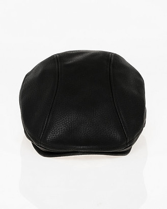 Le Château Textured Faux Leather Ivy Cap