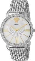 Versace Women's VQQ040015 New Krios Stainless Steel Watch