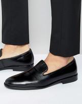 Aldo Golston Leather Slipon Shoes