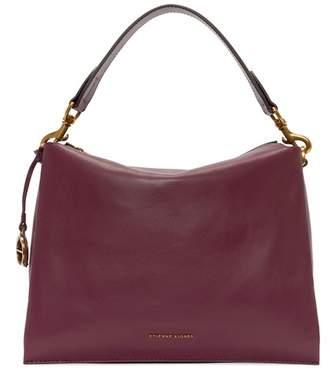 Etienne Aigner Ellie Leather Hobo Shoulder Bag