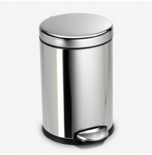 Simplehuman 4.5L Round Step Can