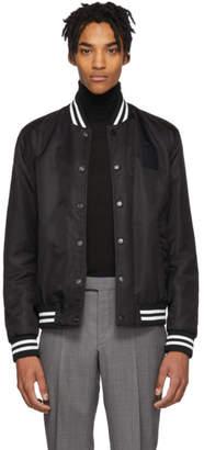 BOSS Reversible Black Jeremyville Edition Ceremy Bomber Jacket