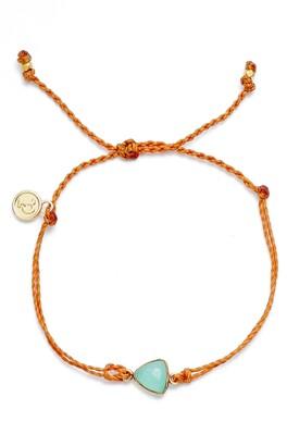 Pura Vida Chalcedony Sliver Bracelet