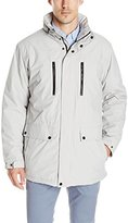 Izod Men's Insulated 4 Pocket Oxford Parka