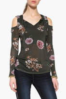 Desigual Floral Cold Shoulder