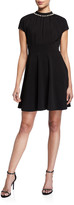 Kate Spade pearl pave crepe dress