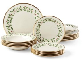 Lenox Holiday 18 Piece Dinnerware Set, Created for Macy's