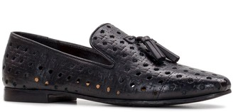 Patricia Nash Perforated Leather Loafers - Francesca