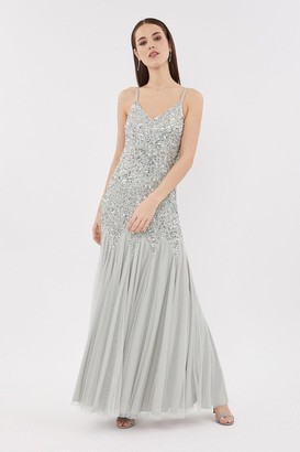Coast Strappy Sequin Maxi Dress