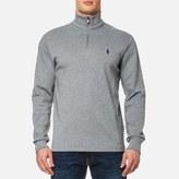 Polo Ralph Lauren Men's 1/4 Zip Pima Cotton Sweatshirt Grey