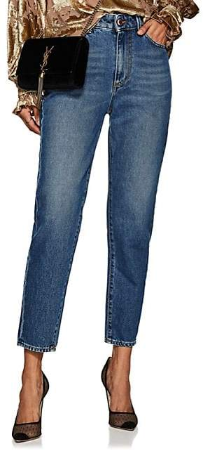 Care Label Women's Cindy High-Rise Boyfriend Jeans - Blue
