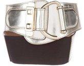 Gucci Metallic Patent Leather Belts