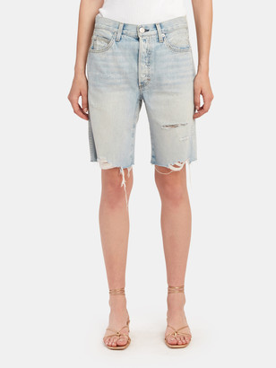 Amo Long Loverboy Cut Off Shorts