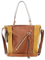 Chloé Myer Small leather and suede tote