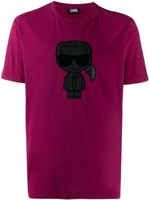Karl Lagerfeld Paris ikonik print T-shirt