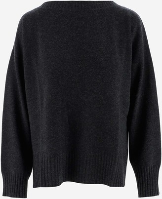 P.A.R.O.S.H. Grey Cashmere Women's Sweater