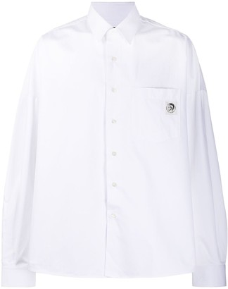 Diesel S-Loomy loose-fit shirt