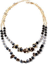 Amrita Singh Resin Double-Layer Necklace