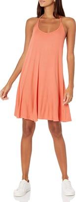 good hYOUman Women's Mia Island Sunrise Tank Dress Medium