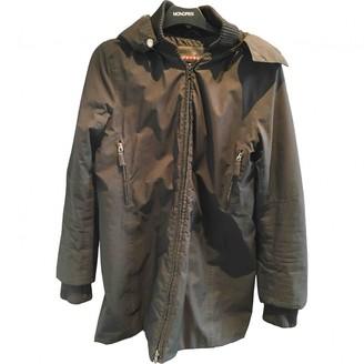 Prada Black Polyester Coats