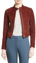 Theory Women's Bavewick Suede Jacket