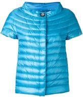 Herno shortsleeved down jacket - women - Cotton/Polyamide/Polyester/Goose Down - 42