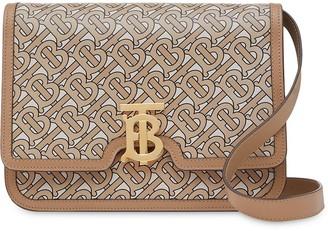 Burberry TB monogram-print shoulder bag