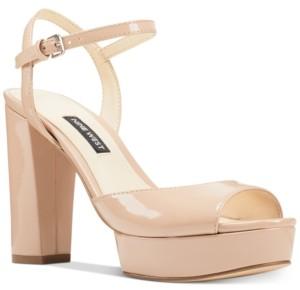 Nine West Gail Platform Dress Sandals Women's Shoes