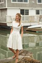 Shabby Apple Monroe Fit & Flare Dress White