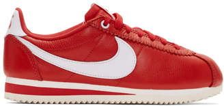 Nike Red Stranger Things Edition Classic Cortez QS Sneakers