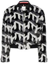 Tommy Hilfiger Britney Faux Fur Bomber Jacket