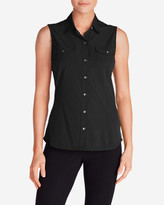 Eddie Bauer Women's Departure Sleeveless Shirt