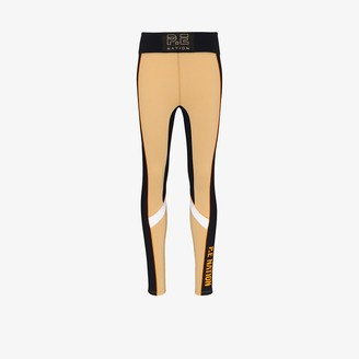 P.E Nation Track Record sports performance leggings