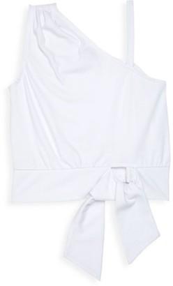 Habitual Girl's Front Tie Crop Top