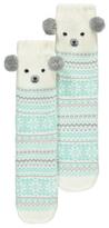 George Knitted Polar Bear Socks