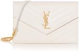 Saint Laurent Monogramme Quilted Chain Shoulder Bag