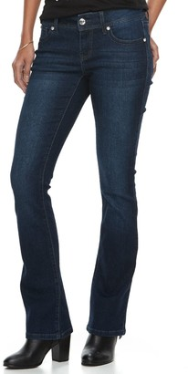 Apt. 9 Women's Heavily Embellished Tummy Control Bootcut Jeans